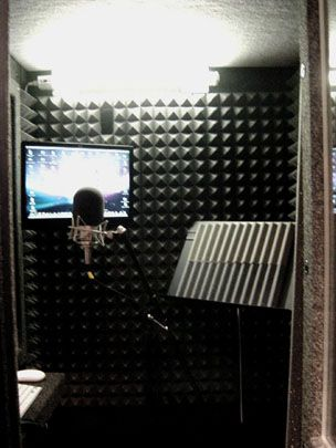 how to build your own vocal booth