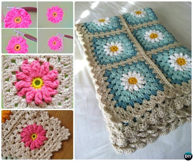 Crochet Flower Pattern Blanket : 10+ images about To crochet or not to crochet? on ...