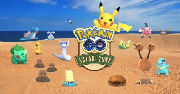 New Pokémon GO Safari Zone event features Fossil Pokémon and More!