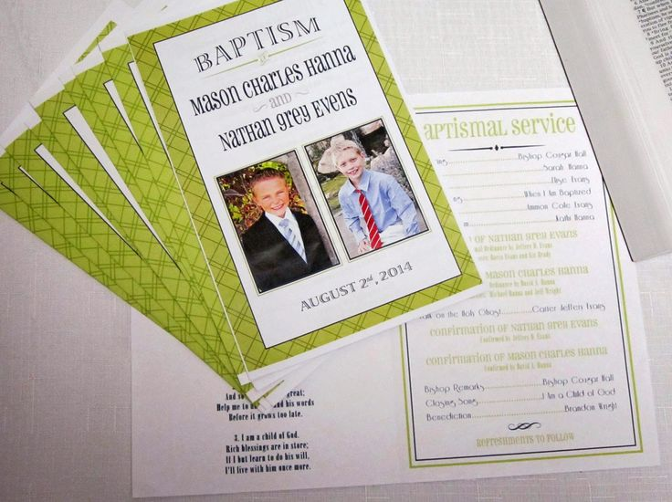 Baptism Program designed by Pocket Full of Pixels, www.pocketfullofpixels.etsy.com Featured by Sweeten Your Day Events: It's Great to be 8! #LDSBaptism #BaptismProgram