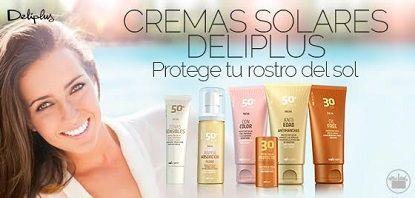 Ha llegado la primavera y debemos empezar a proteger ya la delicada piel del rostro con las cremas solares Deliplus.