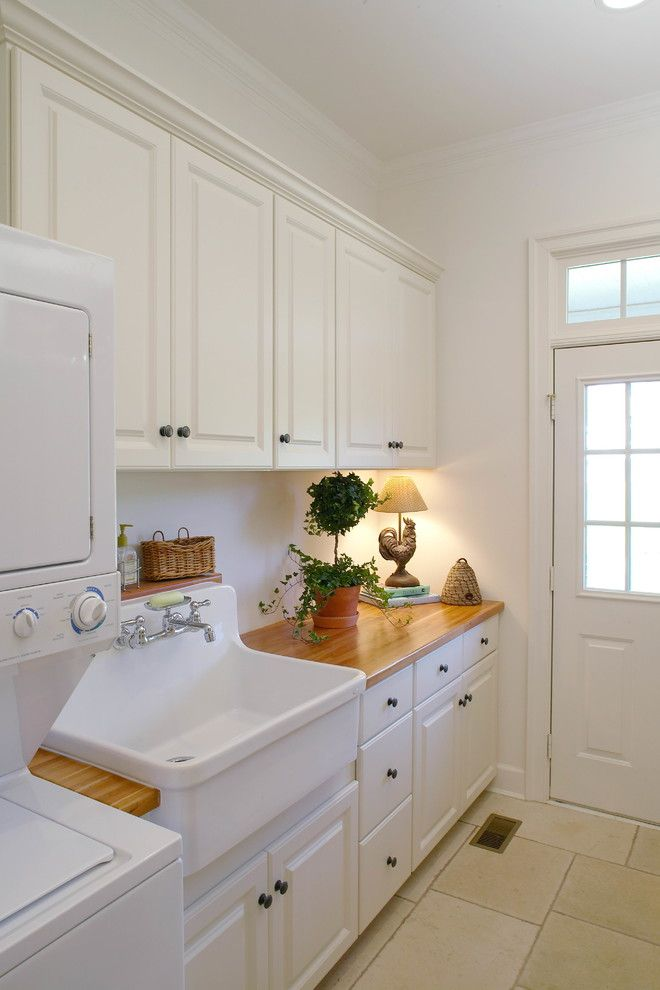 Marvelous Utility Sink Cabinet Fashion Dc Metro Traditional Laundry Room Remodeling Ideas With Laundry Tub Stacked