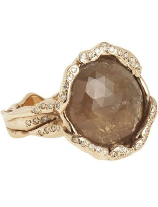 Brown saphire #engagment #ring