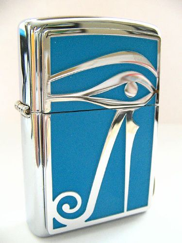 Eye of Horus Zippo lighter-  I really want this one, if anybody knows where I can buy it please let me know!