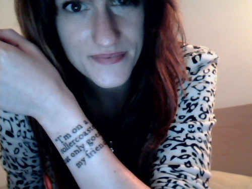 """""""I'm on a rollercoaster that only goes up, my friend."""" 
