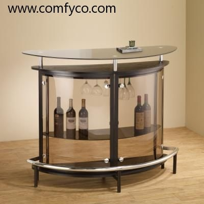 Elegant $369 Modern Bar Furniture, Bar Table, Bar Stool: CS1065 (Cappuccino)