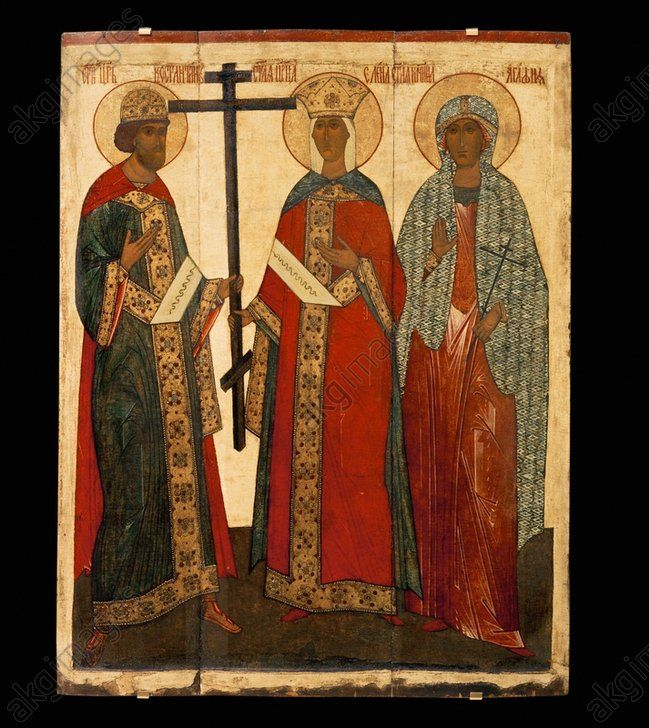 Constantine, Helena and Agatha / Icon