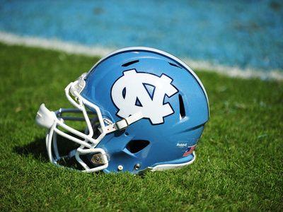 University of North Carolina: North Carolina Tar Heels Football Helmet
