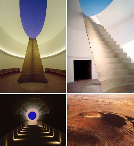 Artwork by James Turrell