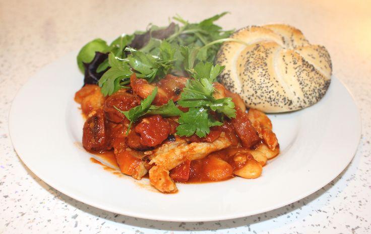 Cod and Chorizo Stew - www.michelleinman.co.uk