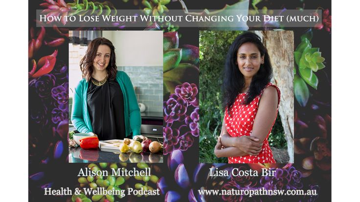 How to Lose Weight Without Changing your Diet (much) Health and Wellbeing Podcast #10  #naturopath #naturalhealth #weightloss #hormones #exercise #weight #mindfuleating #mindlessmargin #portiondistortion