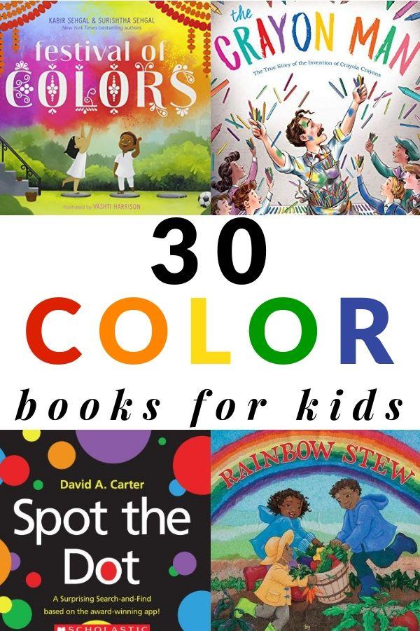 30 Colorful Books For Children Toddler Books Preschool Books Children S Books