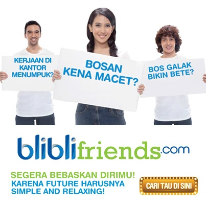 Join us, become Blibli Friends