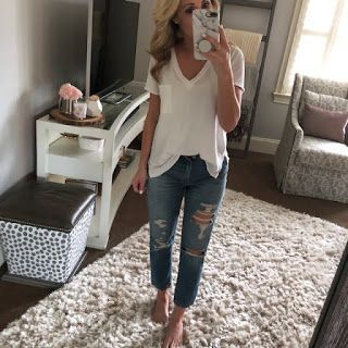 Two Peas in a Blog: Trending - Straight leg Jean Review