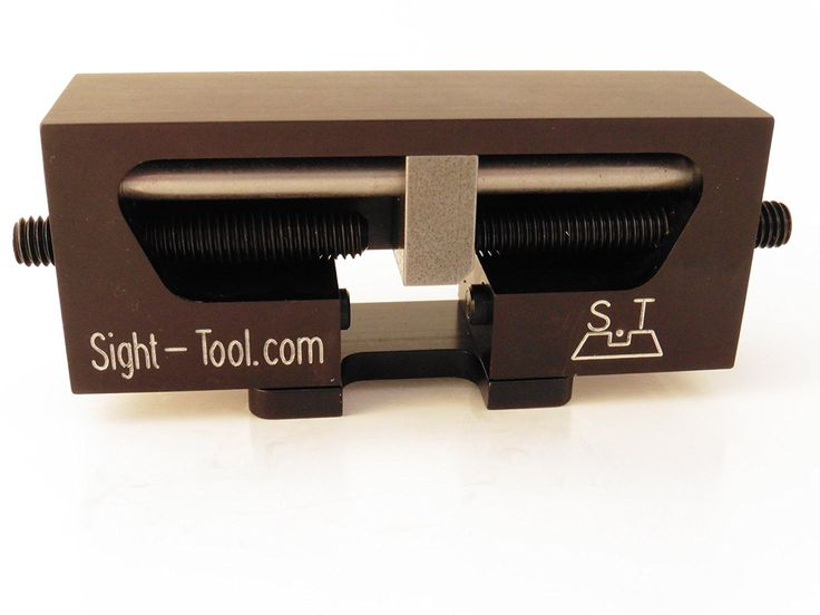 Amazon.com : Universal Handgun Sight Pusher Tool for 1911 Sig springfield and others* Best tool on the market for front or rear sights* MADE IN USA : Sports & Outdoors