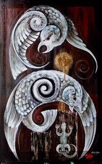 Robin Slow Maori Art  Kura Gallery  519