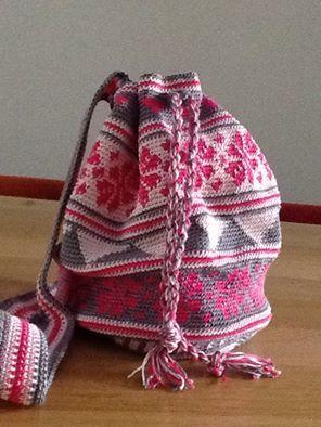 Tas gemaakt door marion spoelder