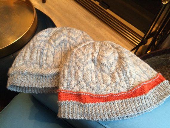 Hand-Knit New Zealand Merino Beanie Hat