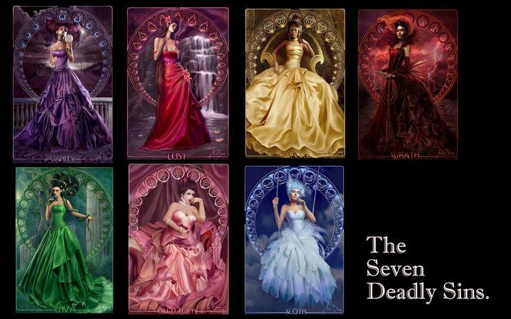 Seven Deadly Sins List | Seven Deadly Sins