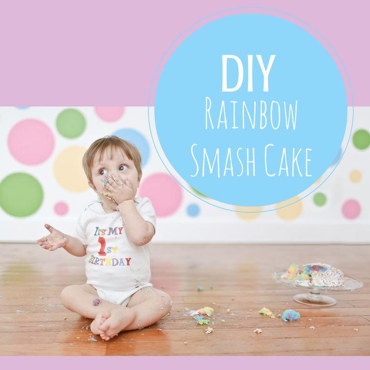 Best 25 Rainbow smash cakes ideas on Pinterest Birthday cake