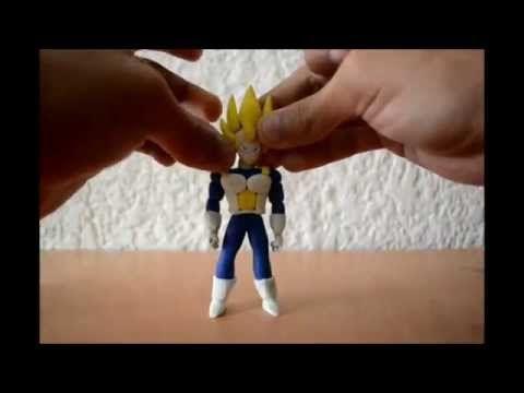 Tutorial- Como hacer a Vegeta Super Saiyan 4 SS4 de Plastilina /Plasticine/clay - YouTube