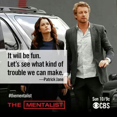 """""""It will be fun. Let's see what kind of trouble we can make."""" ... Now the only question is, who causes more mischief? Patrick Jane or Loki?"""