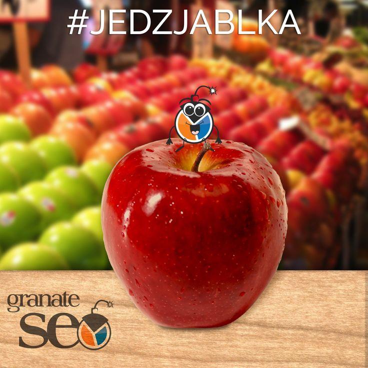 #jedzjablka z Granate SEO