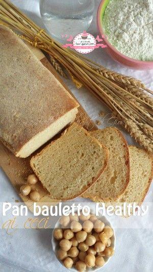 Ciao a tutti! Oggi vi propongo una ricetta curiosa e sfiziosa, è il pan bauletto ai ceci, proteico e leggero, senza grassi aggiunti. E' facile da realizzar
