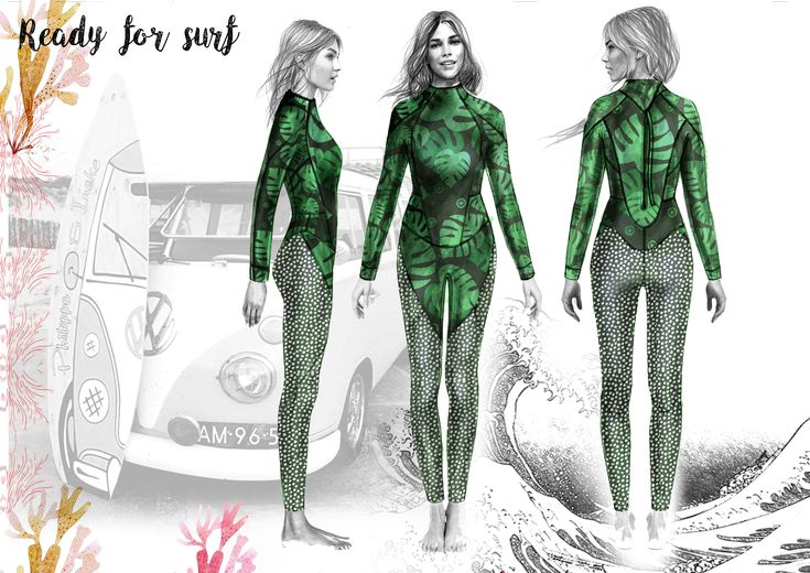 Ready for surf | Wetsuit collection 2018  Pieces of my work #sabinadolhescuswimwear #swimwear #summer #fashionblogger #fashionillustration #luxury #fashion #love #beach #cute #sea #girl #art #illustrationgram #sketchbook #watercolor #ocean #model @sabinadolhescudesigner