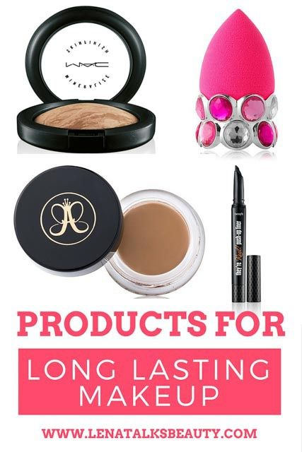 Raquel shares her tips and products for long lasting makeup with Lena Talks Beauty