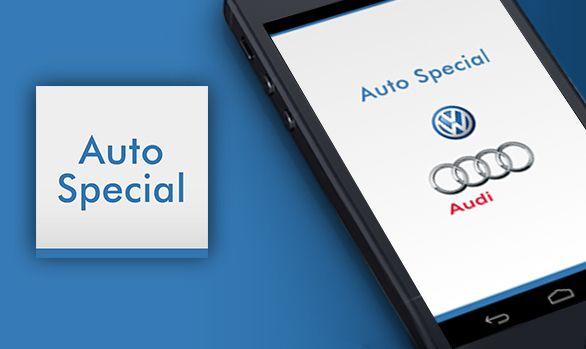 Aplikacja mobilna Auto Special  #mobile #app #automotive