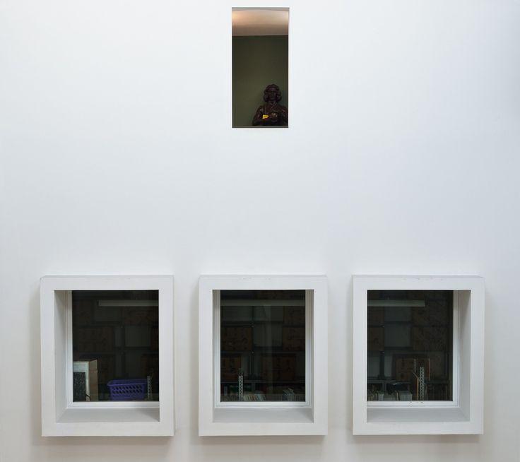Museo Revoltella, Trieste. Finestre sull'atrio. Foto Mattia Visintini.
