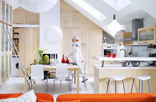 Almost white kitchenDesign Inspiration, Dining Room, Kitchens Design, Design Ideas, Interiors Design, Gorgeous Kitchens, Ikea Kitchens, Future Kitchens, White Kitchens
