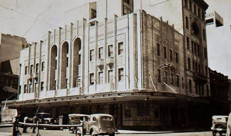 The Criterion Hotel at the corner of Park and Pitt Streets,Sydney in 1936. •Australian National University•