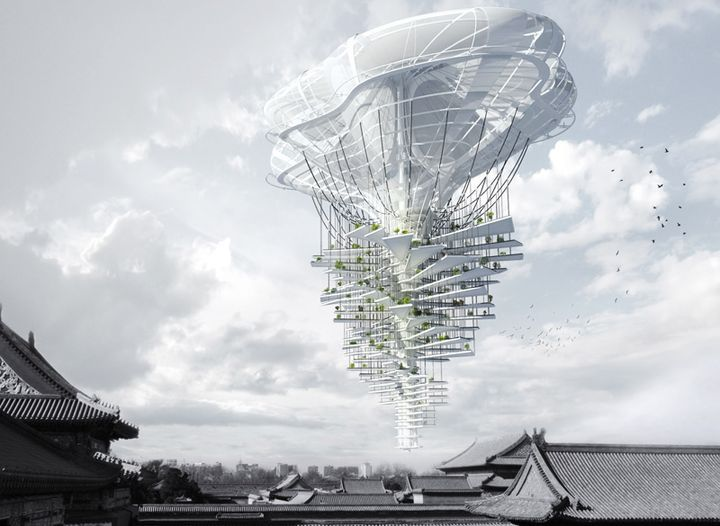 floating skyscraper