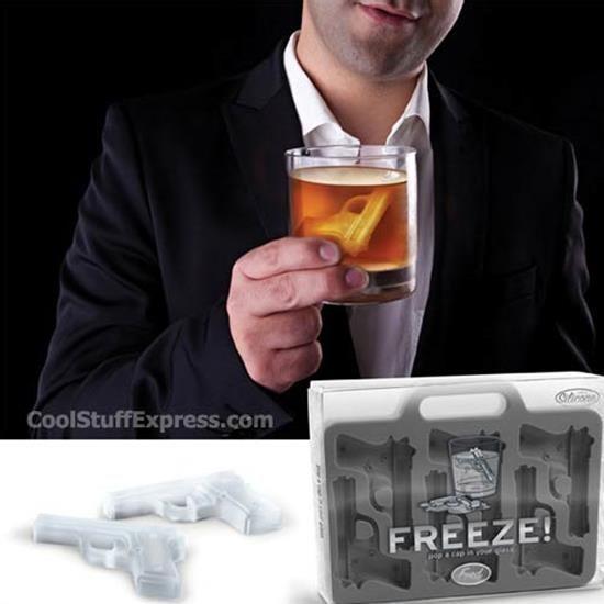 Freeze - Gun Shaped Ice Cube Tray
