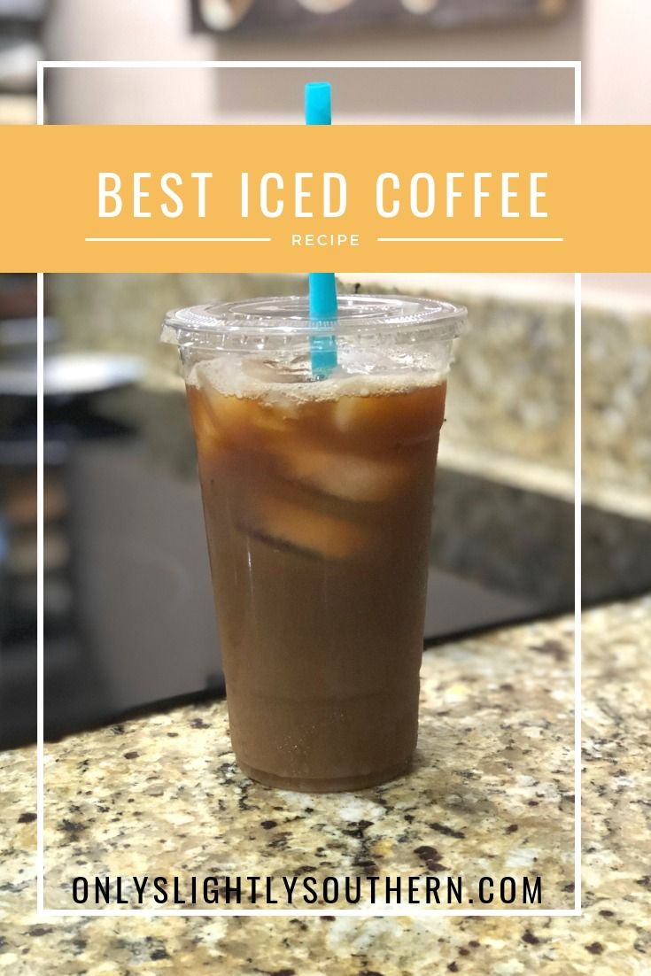 Like Coffee This Is The Best Homemade Iced Coffee Recipe It S Super Easy And Makes Strong Iced Coffee Best Iced Coffee Homemade Iced Coffee Coffee Recipes