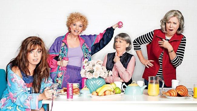 "Kath, Kim and their alter egos. I love the shop girls, ""Noyce, very noyce."""