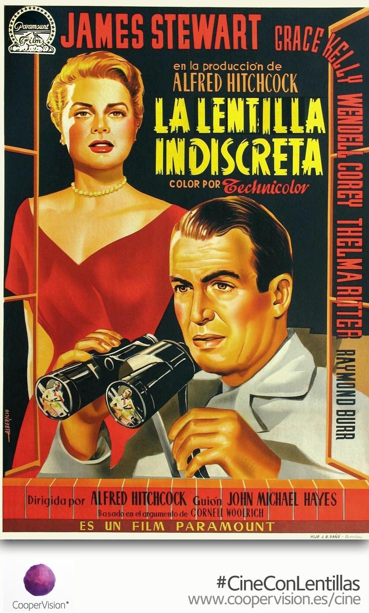 'La Lentilla Indiscreta' ¿Te gusta el cine? Consigue tu entrada gratis con tus lentillas diarias CooperVision en tu óptica. Http://coopervision.es/cine