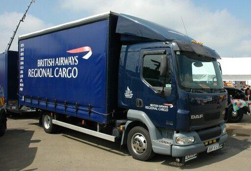 British Airways Cargo Truck