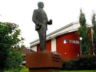 Wiskmanin patsas, Töysä.