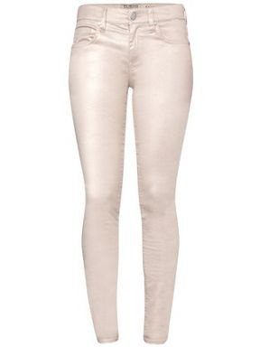 French Connection Fast glimmer denim trouser Pink - House of Fraser