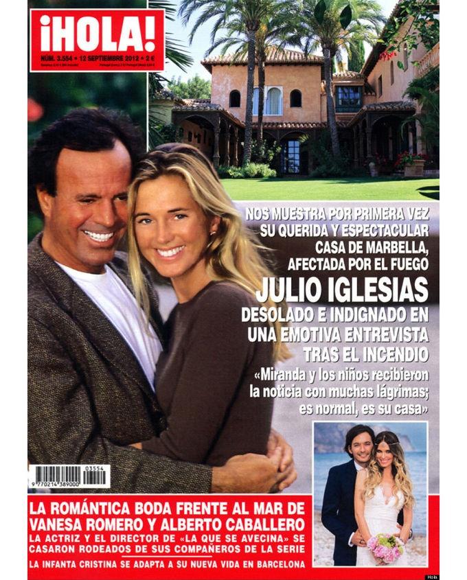 """Revistas del Corazón: Las portadas de la semana - Jueves, 6 de septiembre > """"Hola"""""""