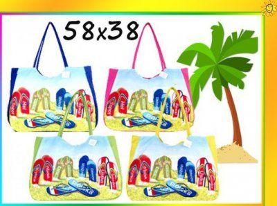 TORBA PLAŻOWA plażę SHOPPER BAG Torebka 58x34 XXL