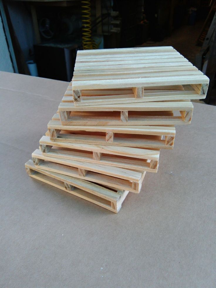 Recycled Pallet Coasters