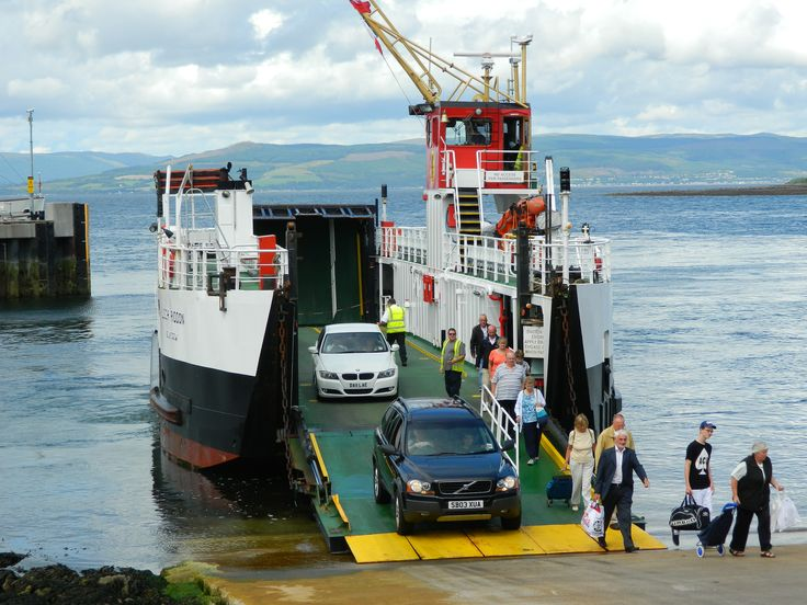 Cross channel ferry from Largs to Milport, Scotland