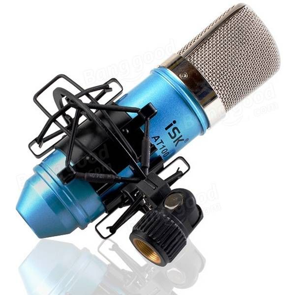ISK AT100 Condenser Studio Microphone Sound Recording Microphone Kit Sale - Banggood.com  toys hobbies Musical Instruments  audio