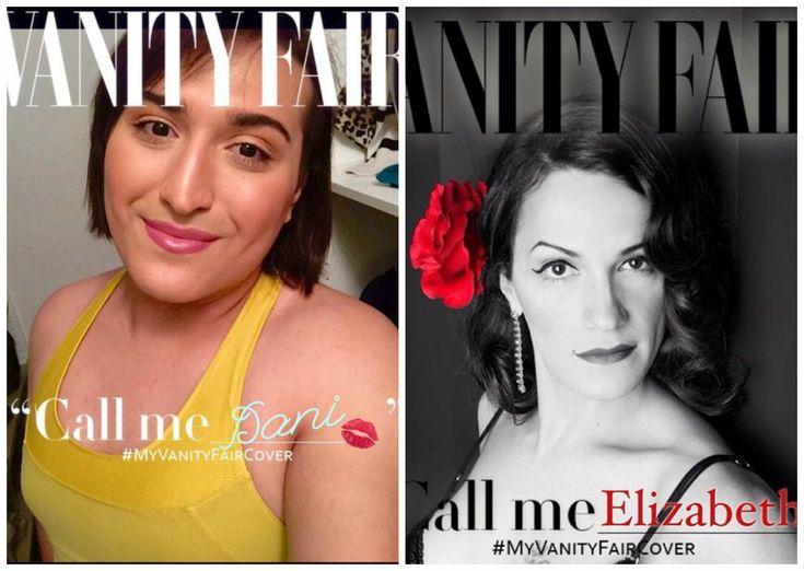 """Depois que Caitlyn Jenner – a ex-atleta Bruce Jenner – estampou a capa da edição de junho da revista""""Vanity Fair"""" assumindo identidade de gênero feminina, transexuais começaram a recriar a capa com suas fotos para chamar atenção para a causa."""