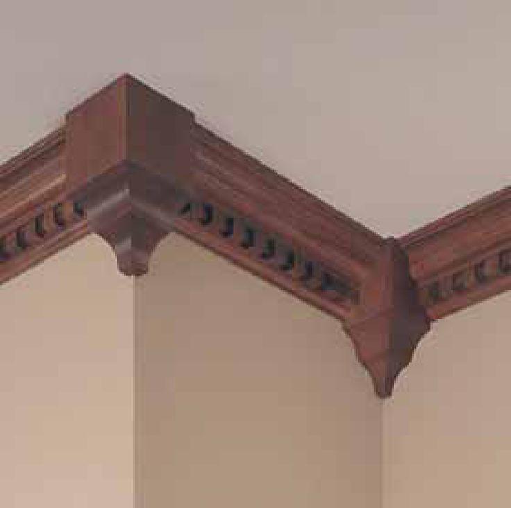 Decramold r miterless mouldings by woodgrain millwork for Miterless crown moulding
