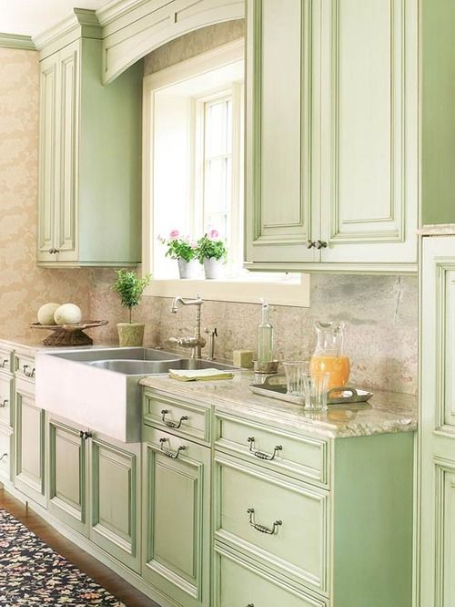 white and green kitchen cabinets seafoam green kitchen marble counters and backsplash 28456